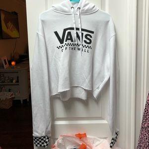 VANS cropped hoodie